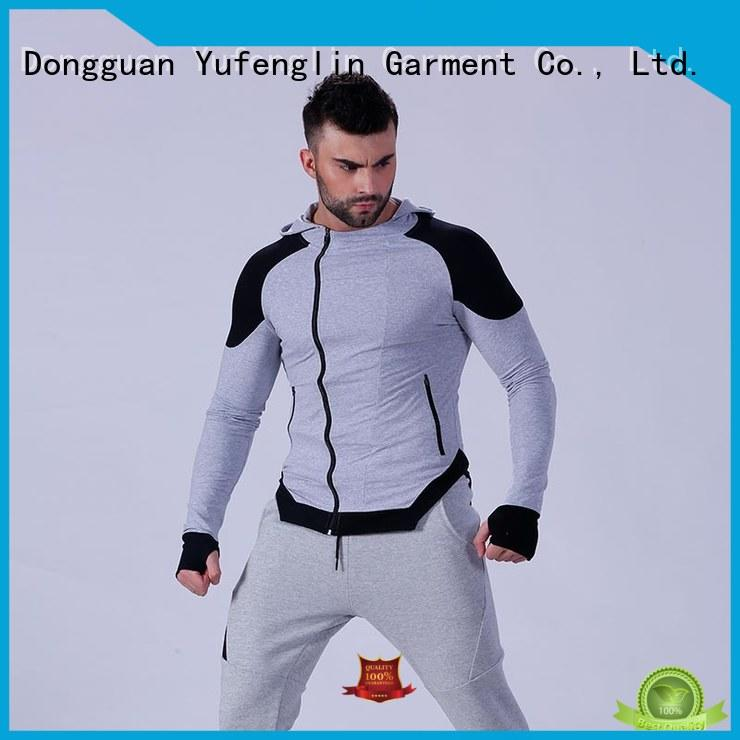 Yufengling design mens hoodies and sweatshirts workout for sporting