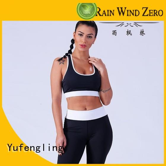 Yufengling splendid women's sports bras casual-style for trainning