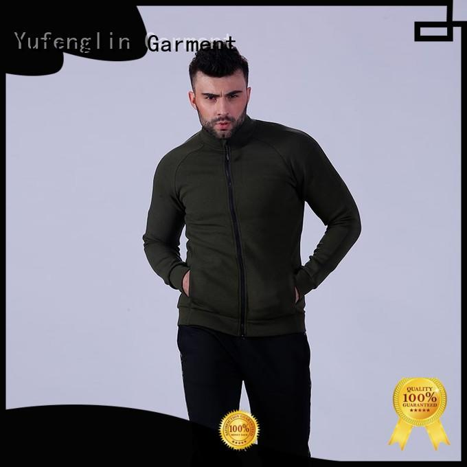 Yufengling hot-sale mens fashion hoodies perfectly matching for sports