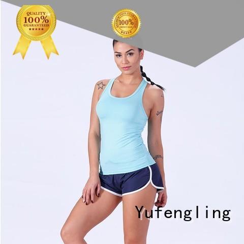 exquisite women tank top gym shorts gym shorts