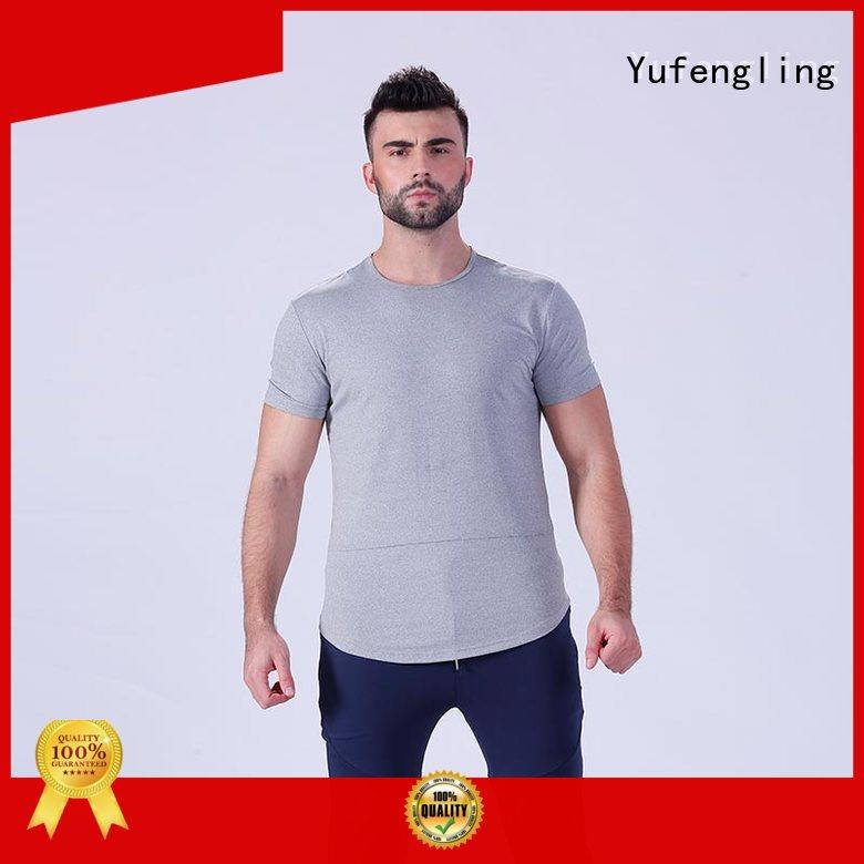 muscle fitness t shirt in different color for training house Yufengling