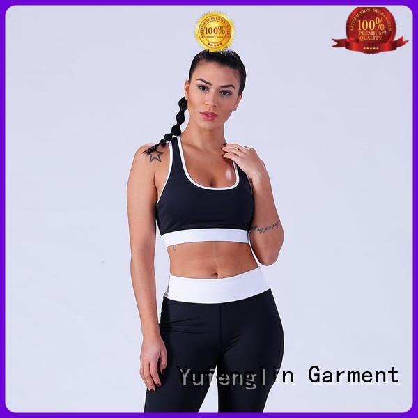 Yufengling yflsbw01 custom sports bra sporting-style workout