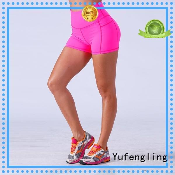 Yufengling yflshw02 athletic shorts womens casual-style exercise room