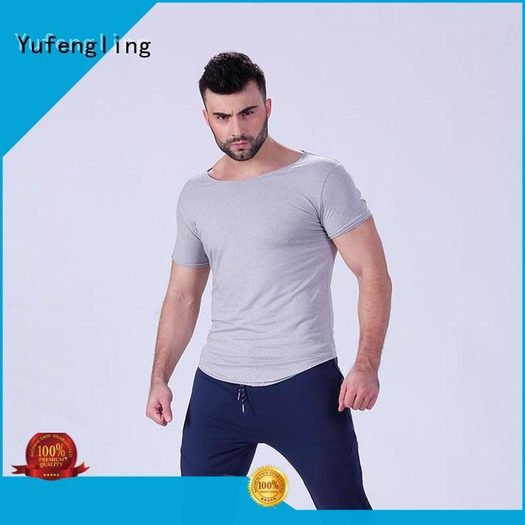 durable fitness t shirt gym owner for training house