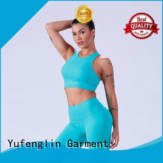 Yufengling gym women's sports bras gymnasium