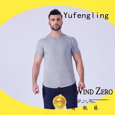 Yufengling plain fitness t shirt wholesale in gym