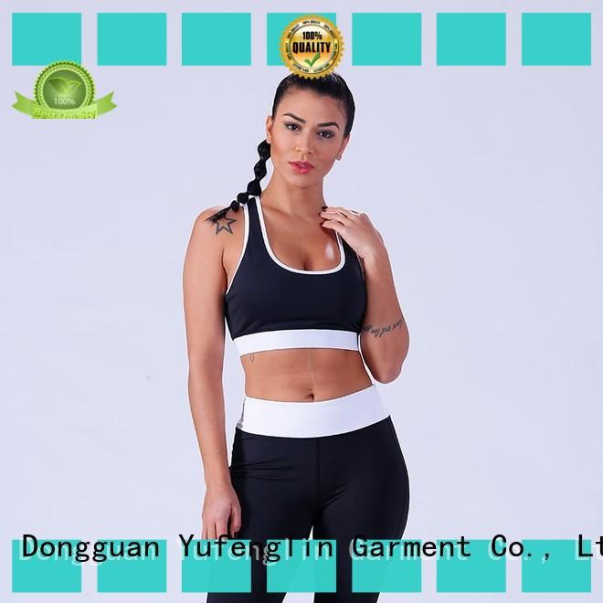 Yufengling top women's sports bras tranning-wear fitness centre