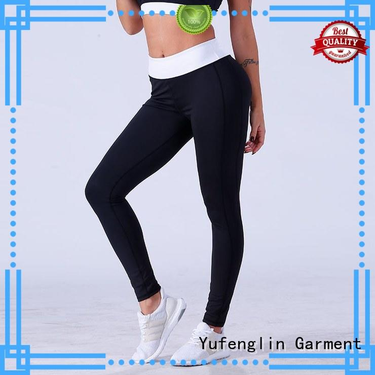 Yufengling yogawear high waist leggings in different color for trainning