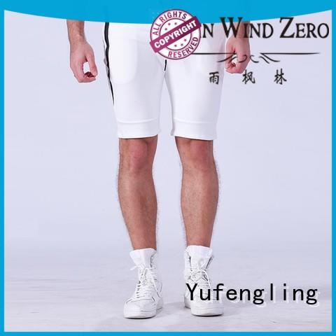 mens Custom sport plain gym shorts men Yufengling fit