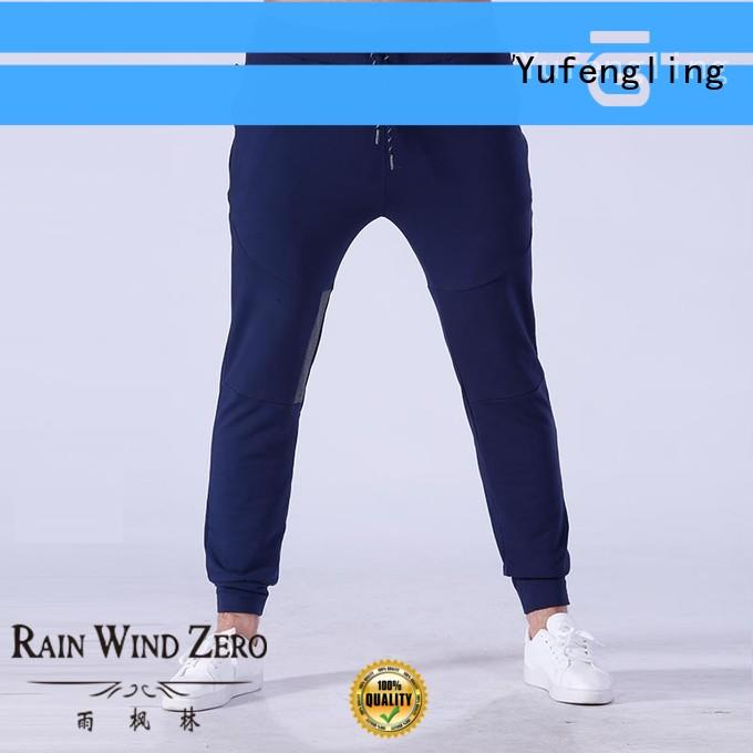 wear mens skinny jogger pants gym in gym Yufengling