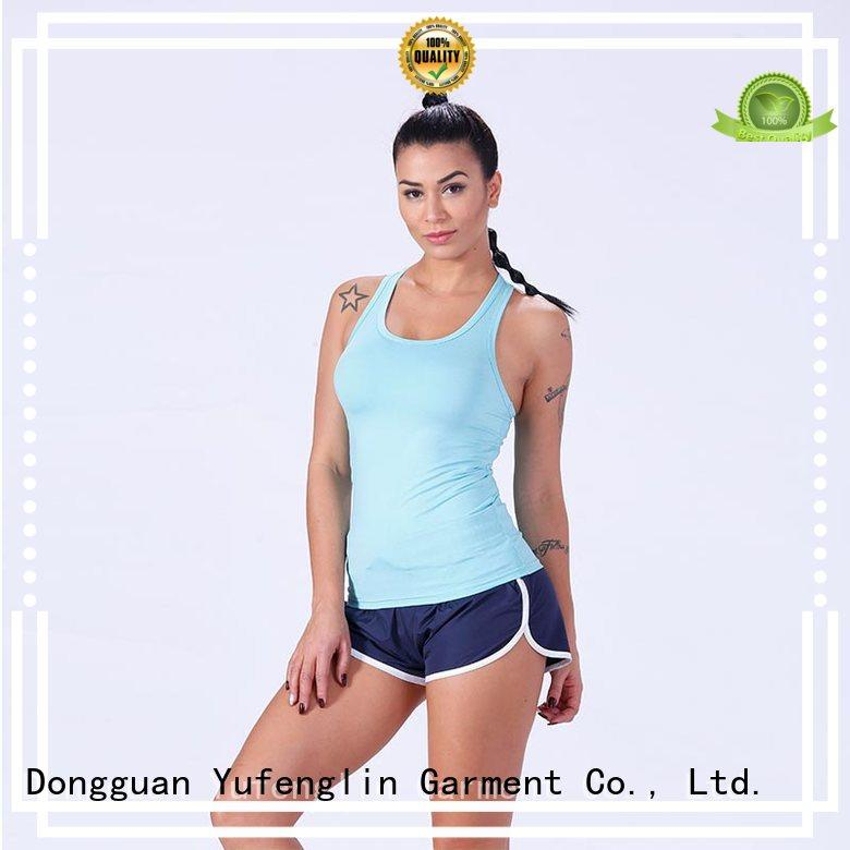 Yufengling fine- quality ladies tank tops for-running for trainning