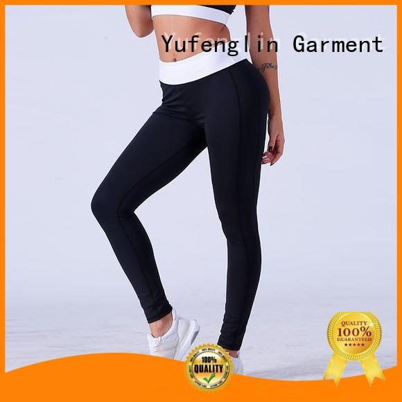 Yufengling high waist leggings sports bra yoga room