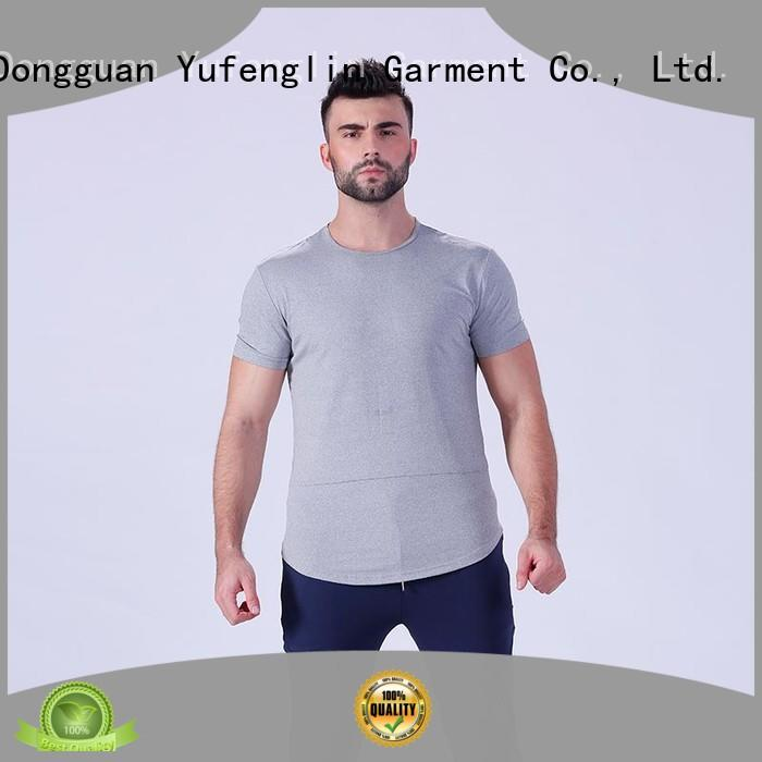 clothing mens t shirt supplier in gym Yufengling