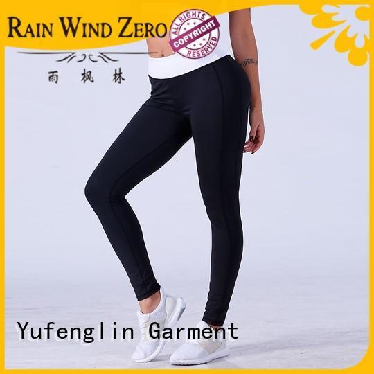Yufengling yogawear workout leggings gym shorts customization