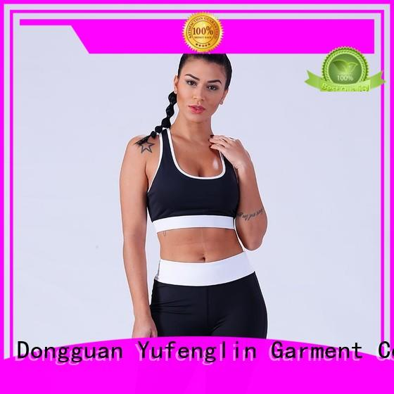 Yufengling newly good sports bras tranning-wear exercise room