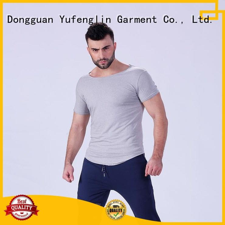 Yufengling gym mens t shirt owner yoga room