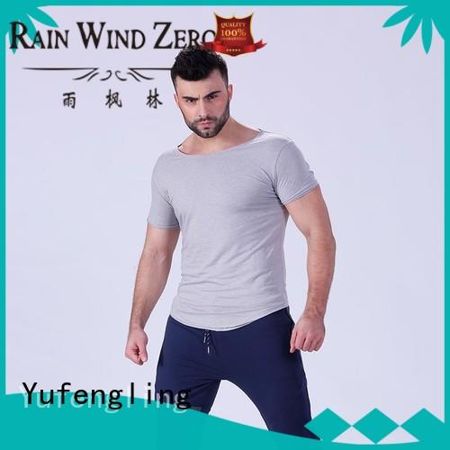 high-quality mens t shirt tee  manufacturer yoga room