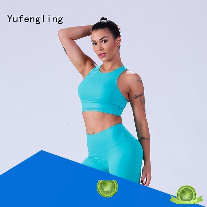 yflsbw01 custom sports bra wholesale for training house Yufengling