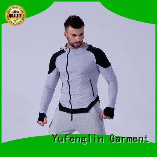 Yufengling design best hoodies for men workout fitness centre