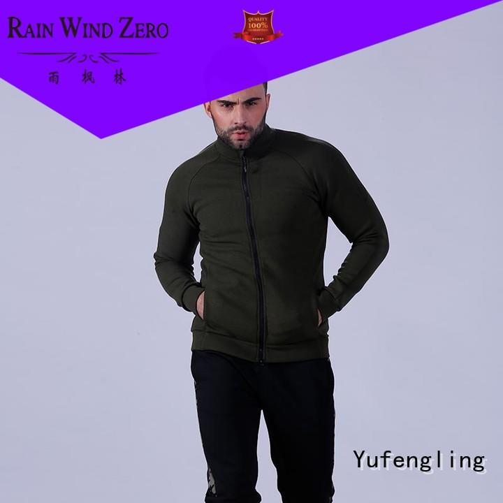 exquisite male hoodies fabric suitable style Yufengling