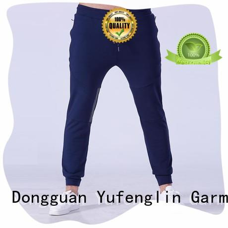 Yufengling fitness best jogger pants mens tight elastic for sports