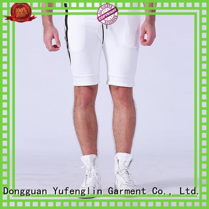 Yufengling quality mens athletic shorts  manufacturer