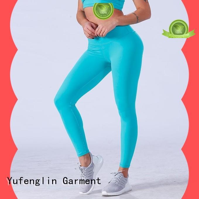 Yufengling fitnesswear sport leggings pati-color gymnasium