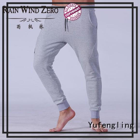 Yufengling fine- quality mens joggers for track  exercise room