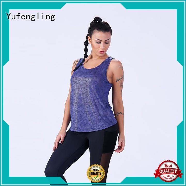 Yufengling yoga fashion tank tops womens sporting-style yogawear