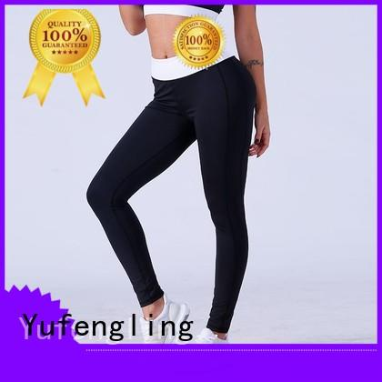 Yufengling new-arrival high waist leggings pati-color for trainning