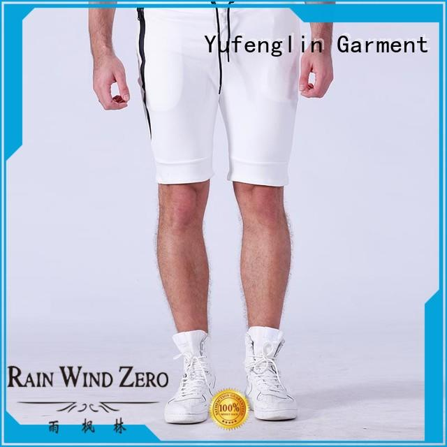 Yufengling newly sports shorts for men factory gymnasium