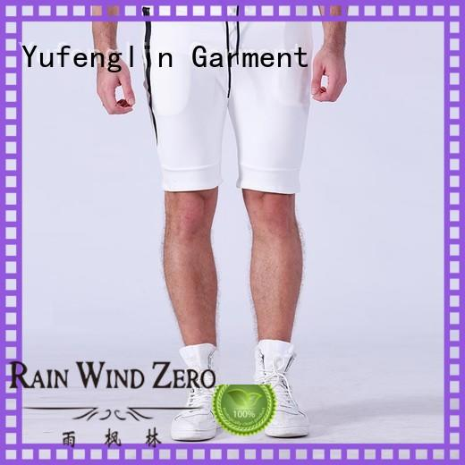 Yufengling classic sports shorts for men factory in gym