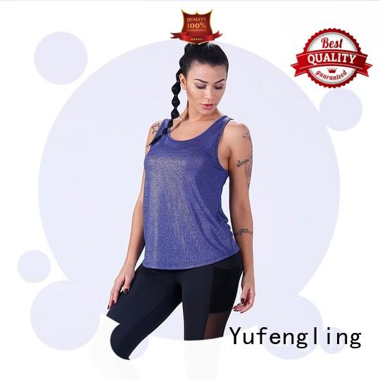 womens singlet tops for-running exercise room Yufengling