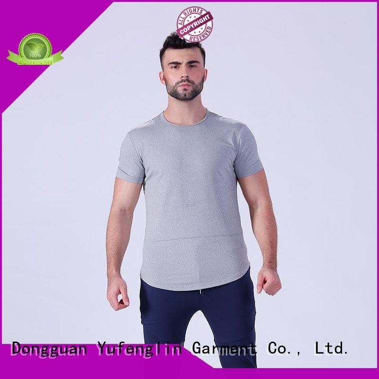 reliable best t shirts for men gym supplier for training house