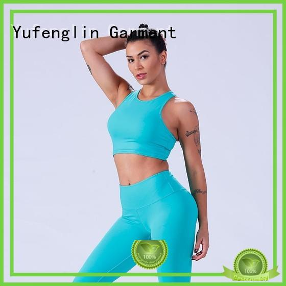 Yufengling top women's sports bras for trainning