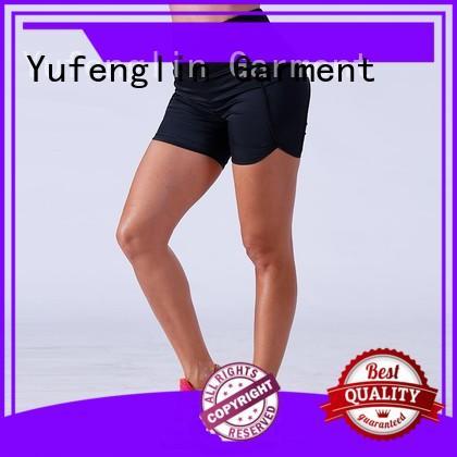 Yufengling gym athletic shorts womens wholesale exercise room