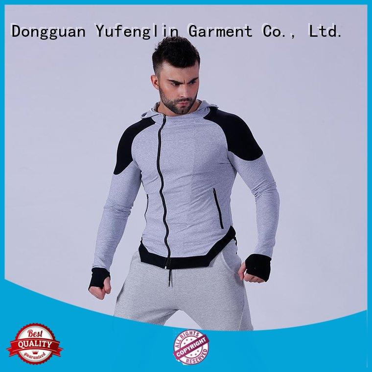 Yufengling new-arrival stylish hoodies for men athletic suitable style