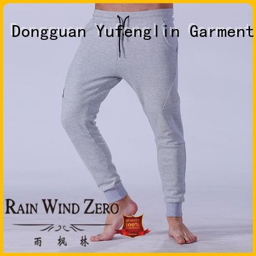 Yufengling quality best jogger pants mens breathable for sporting