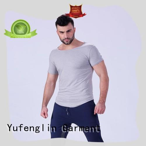 reliable mens stylish t shirts for-mens in gym Yufengling
