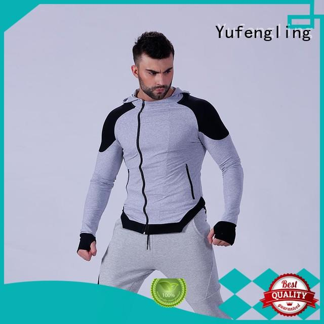 Yufengling magnificent man in hoodie for men for sports