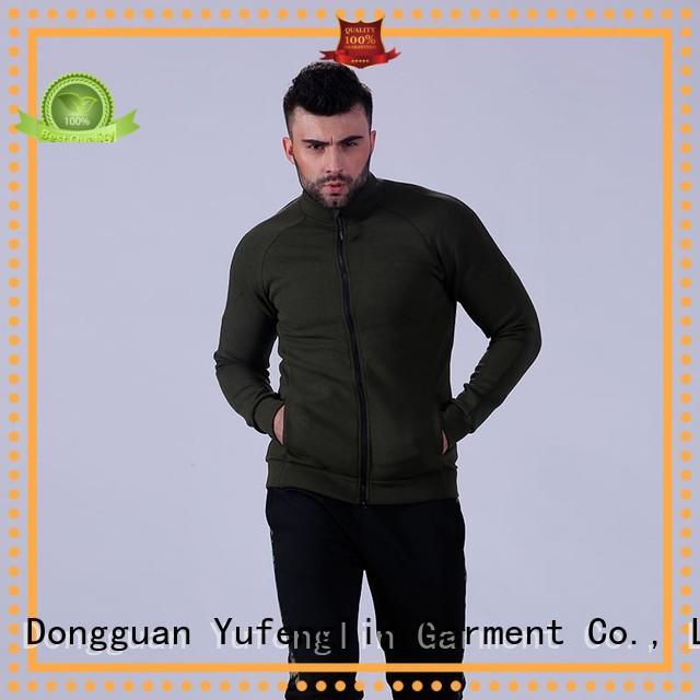 athletic mens hoodie tranning-wear in gym Yufengling