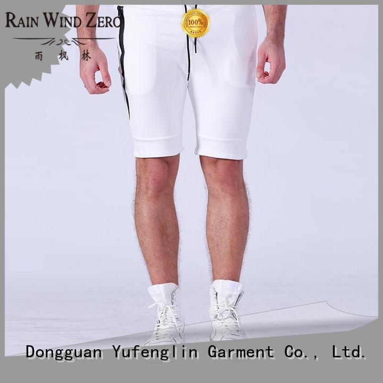 Yufengling reliable gym shorts men for-mens yoga room