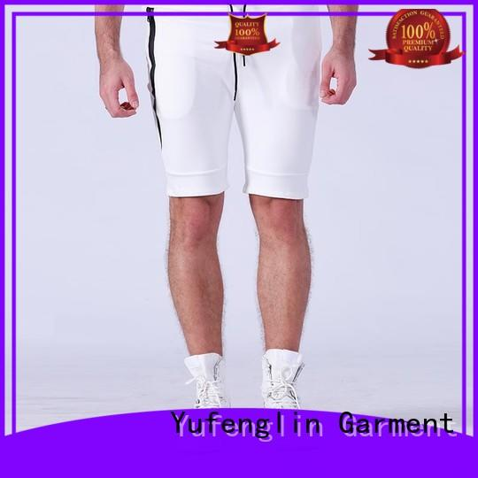 Yufengling cotton mens athletic shorts for-mens in gym