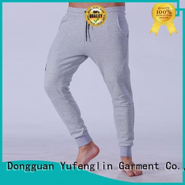 Yufengling high-quality male jogger pants wear