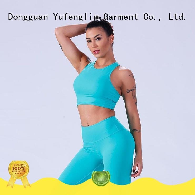 Yufengling splendid women's sports bras tranning-wear exercise room