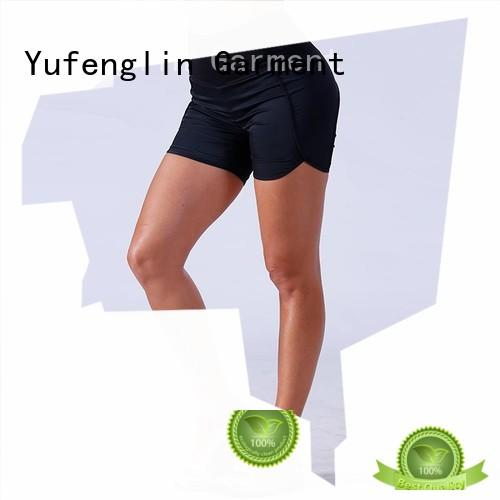 Yufengling magnificent ladies gym shorts fitting-style suitable style