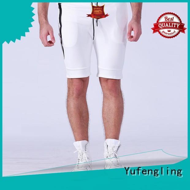 sport gym shorts men o-neck in gym Yufengling