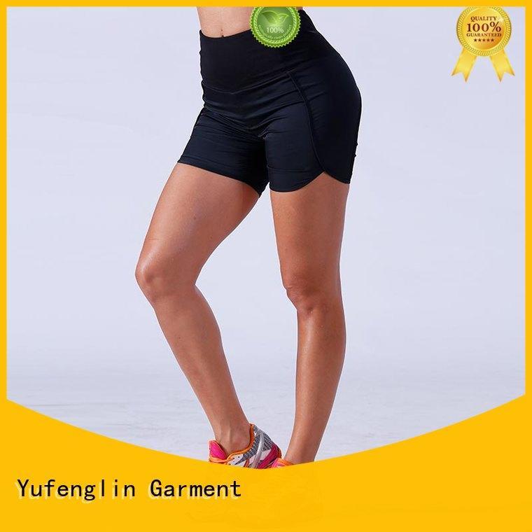 yogawear womens athletic shorts fitting-style exercise room Yufengling