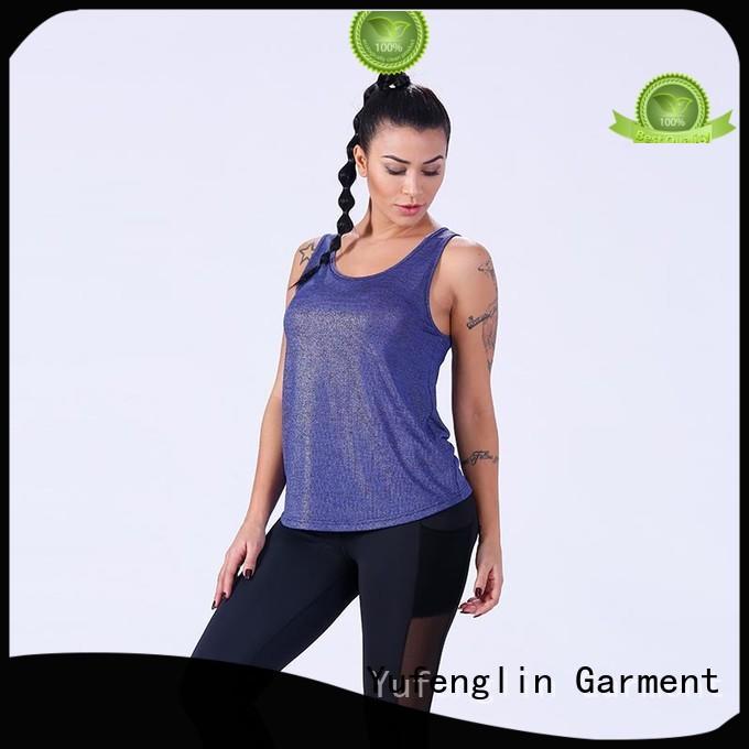 Yufengling newly ladies tank tops yoga wear gym shorts