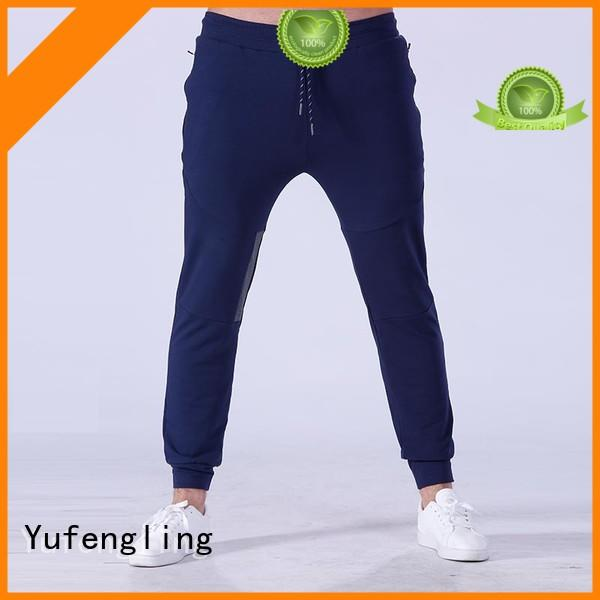 Yufengling fine- quality mens joggers nylon fabric for sports